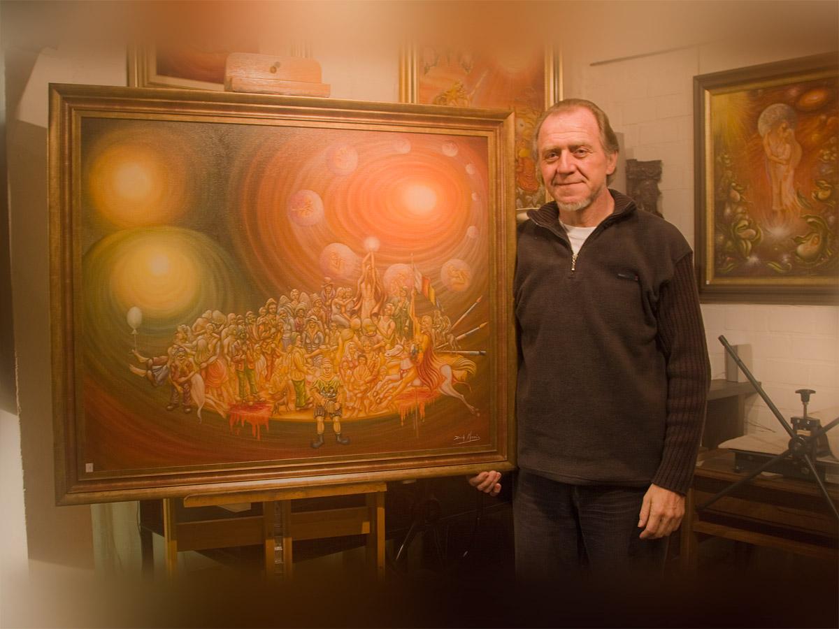 Dirk Maris, kunstenaar